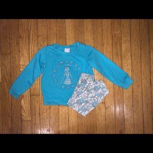 Disney Frozen II sweatshirt set size 4T